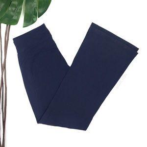 Athleta Navy Blue Bootcut Yoga Pants